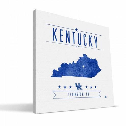 Kentucky Wildcats Industrial Canvas Print