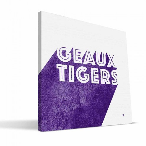 LSU Tigers Shade Canvas Print
