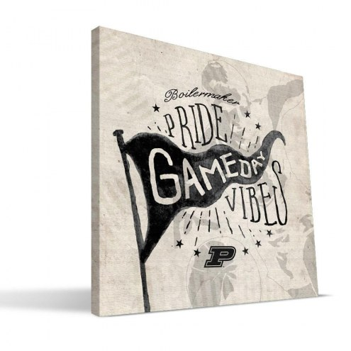 Purdue Boilermakers Gameday Vibes Canvas Print