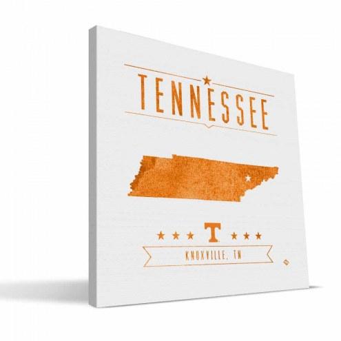 Tennessee Volunteers Industrial Canvas Print