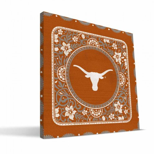 Texas Longhorns Eclectic Canvas Print