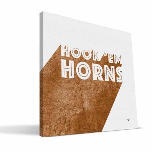 Texas Longhorns Shade Canvas Print