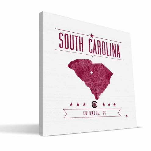 South Carolina Gamecocks Industrial Canvas Print