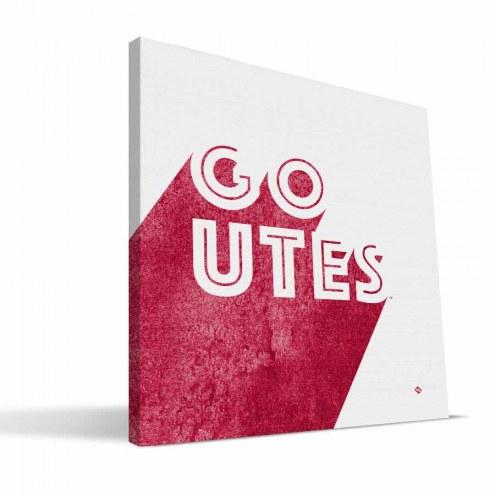 Utah Utes Shade Canvas Print