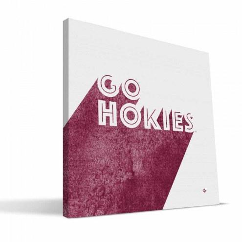 Virginia Tech Hokies Shade Canvas Print