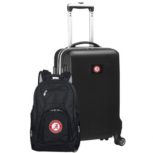 Alabama Crimson Tide Deluxe 2-Piece Backpack & Carry-On Set