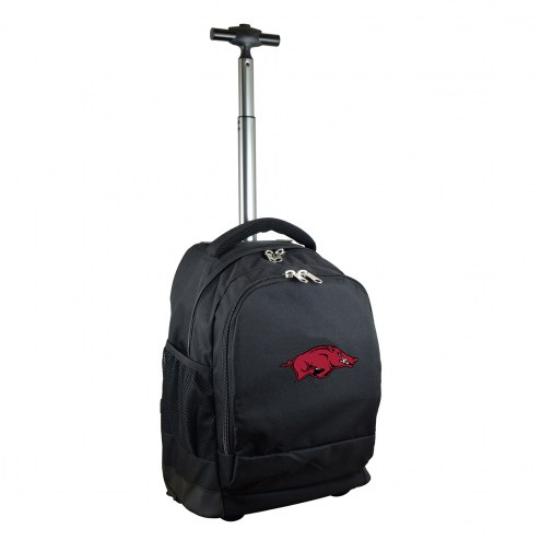 Arkansas Razorbacks Premium Wheeled Backpack