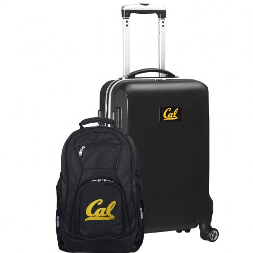 California Golden Bears Deluxe 2-Piece Backpack & Carry-On Set