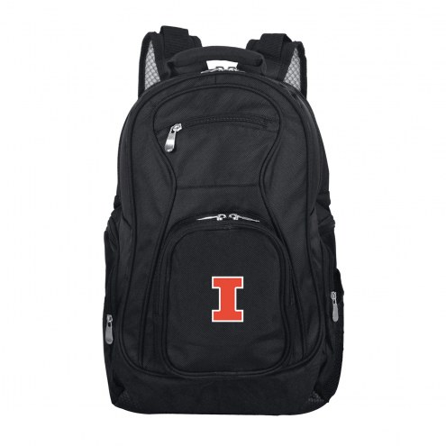 Illinois Fighting Illini Laptop Travel Backpack