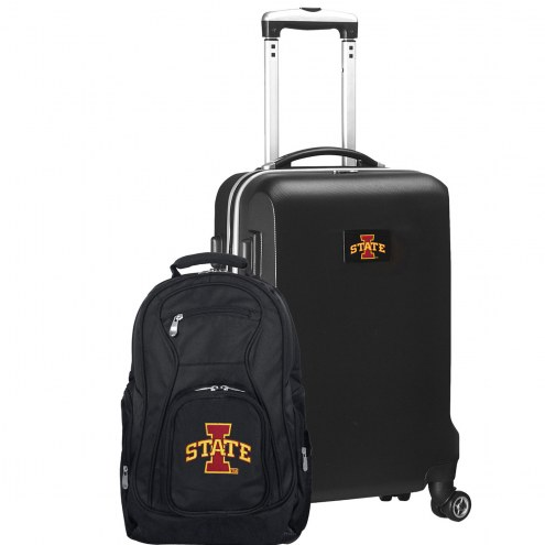 Iowa State Cyclones Deluxe 2-Piece Backpack & Carry-On Set