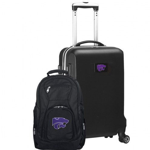 Kansas State Wildcats Deluxe 2-Piece Backpack & Carry-On Set