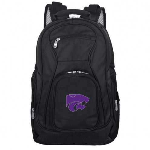Kansas State Wildcats Laptop Travel Backpack