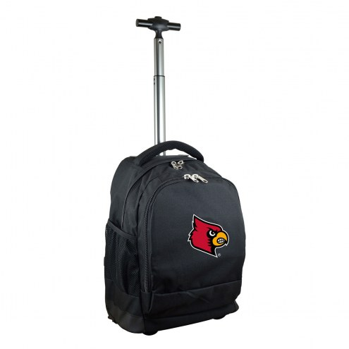 Louisville Cardinals Premium Wheeled Backpack