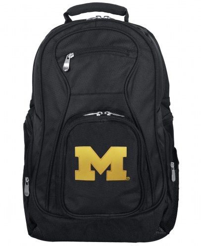 Michigan Wolverines Laptop Travel Backpack