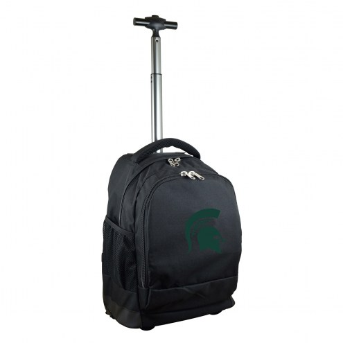 Michigan State Spartans Premium Wheeled Backpack