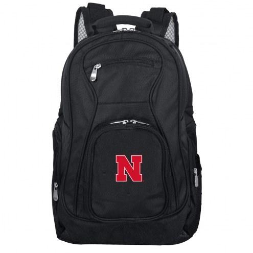 Nebraska Cornhuskers Laptop Travel Backpack