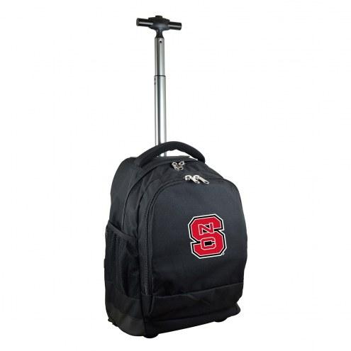 North Carolina State Wolfpack Premium Wheeled Backpack