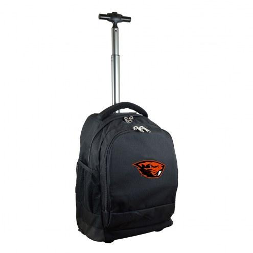 Oregon State Beavers Premium Wheeled Backpack