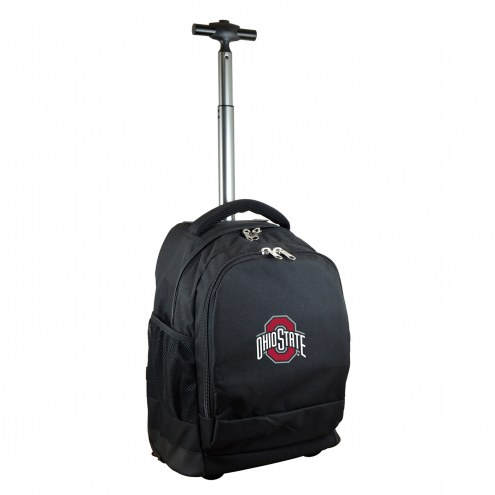 Ohio State Buckeyes Premium Wheeled Backpack
