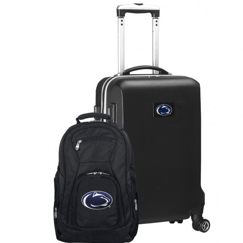 Penn State Nittany Lions Deluxe 2-Piece Backpack & Carry-On Set