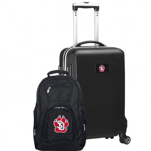 South Dakota Coyotes Deluxe 2-Piece Backpack & Carry-On Set