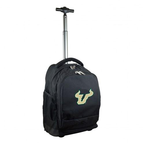 South Florida Bulls Premium Wheeled Backpack