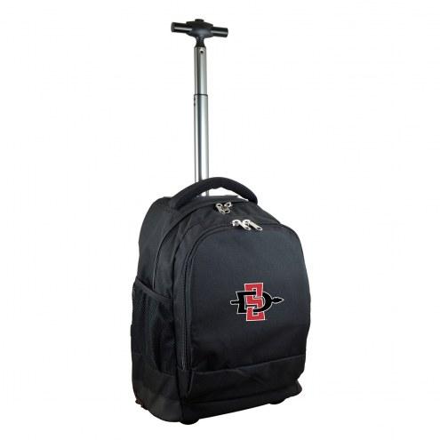 San Diego State Aztecs Premium Wheeled Backpack