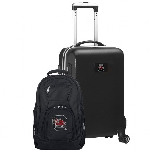 South Carolina Gamecocks Deluxe 2-Piece Backpack & Carry-On Set