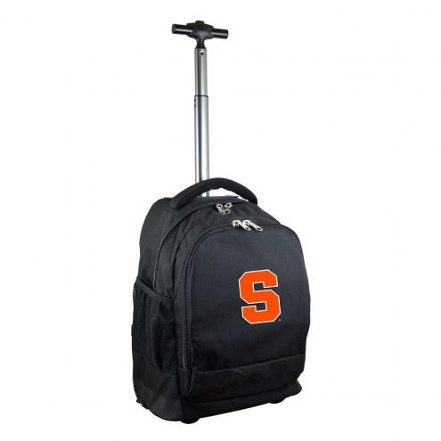 Syracuse Orange Premium Wheeled Backpack