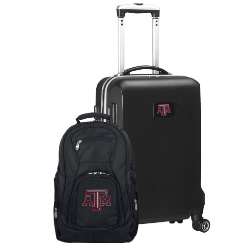 Texas A&M Aggies Deluxe 2-Piece Backpack & Carry-On Set