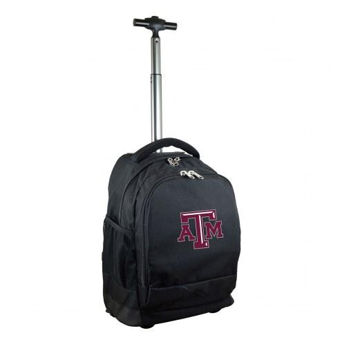 Texas A&M Aggies Premium Wheeled Backpack