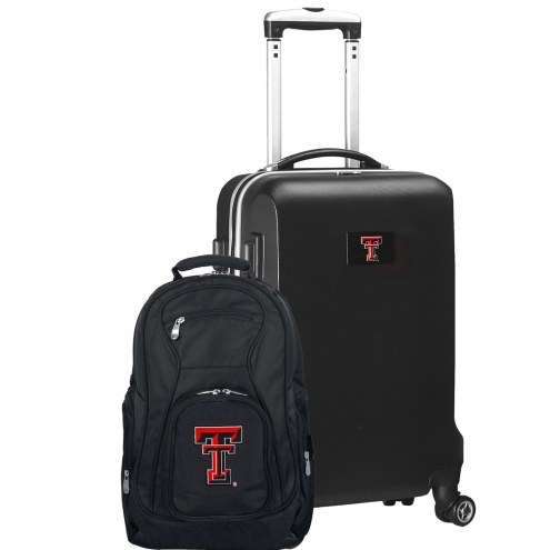 Texas Tech Red Raiders Deluxe 2-Piece Backpack & Carry-On Set