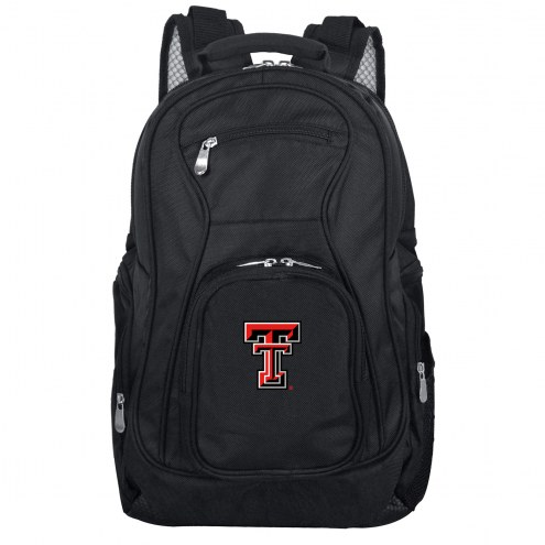 Texas Tech Red Raiders Laptop Travel Backpack