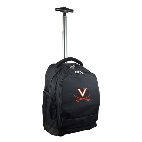 Virginia Cavaliers Premium Wheeled Backpack