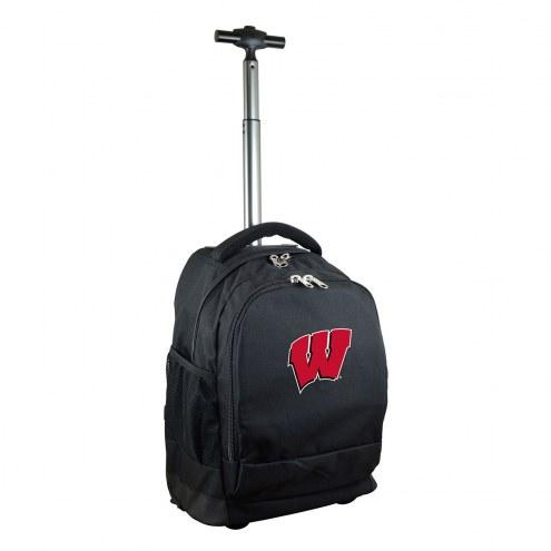 Wisconsin Badgers Premium Wheeled Backpack