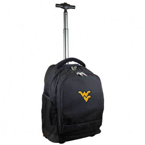 West Virginia Mountaineers Premium Wheeled Backpack