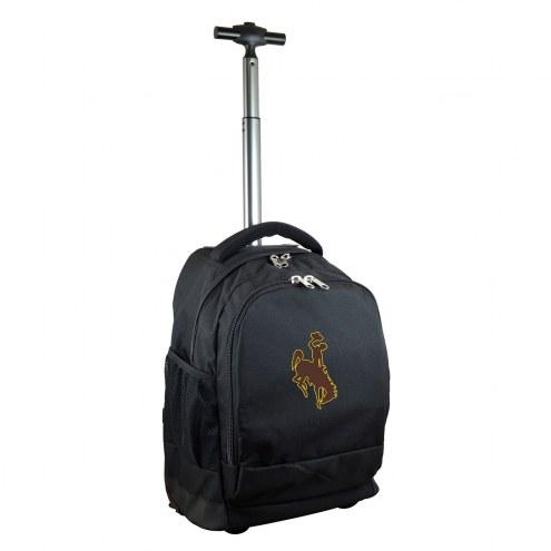 Wyoming Cowboys Premium Wheeled Backpack