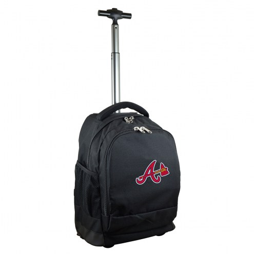 Atlanta Braves Premium Wheeled Backpack
