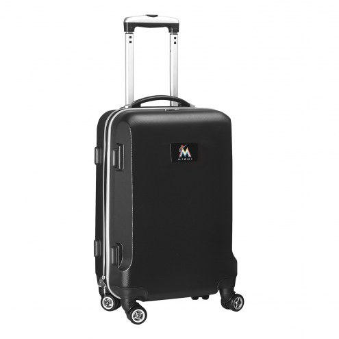 """Miami Marlins 20"""" Carry-On Hardcase Spinner"""