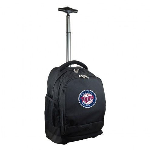 Minnesota Twins Premium Wheeled Backpack