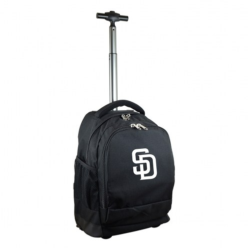 San Diego Padres Premium Wheeled Backpack