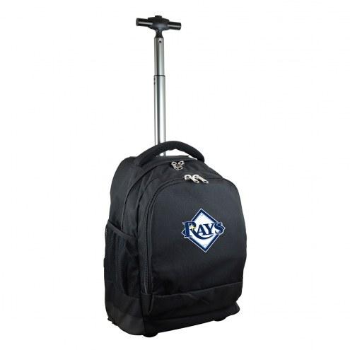 Tampa Bay Rays Premium Wheeled Backpack