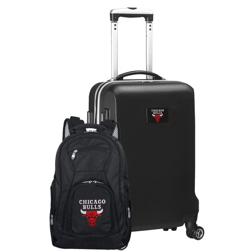 Chicago Bulls Deluxe 2-Piece Backpack & Carry-On Set