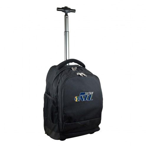 Utah Jazz Premium Wheeled Backpack