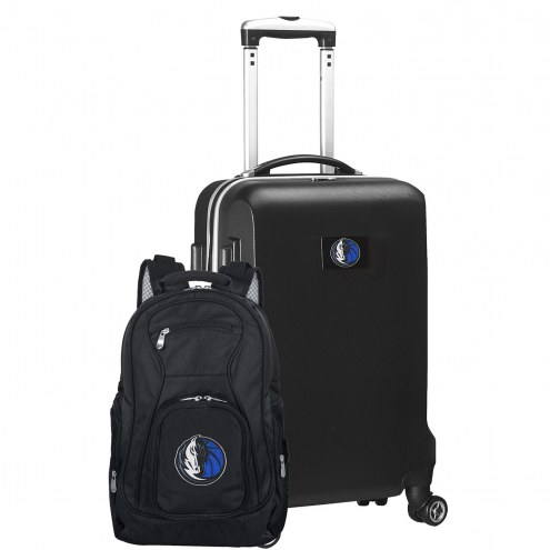 Dallas Mavericks Deluxe 2-Piece Backpack & Carry-On Set
