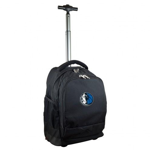 Dallas Mavericks Premium Wheeled Backpack