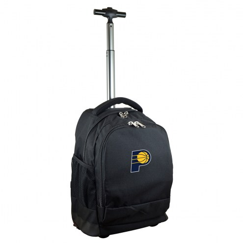 Indiana Pacers Premium Wheeled Backpack