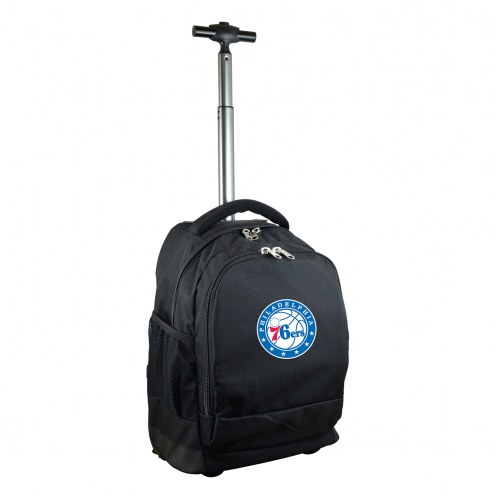Philadelphia 76ers Premium Wheeled Backpack
