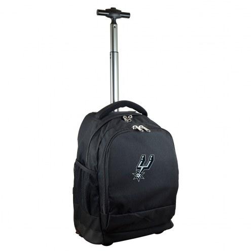 San Antonio Spurs Premium Wheeled Backpack