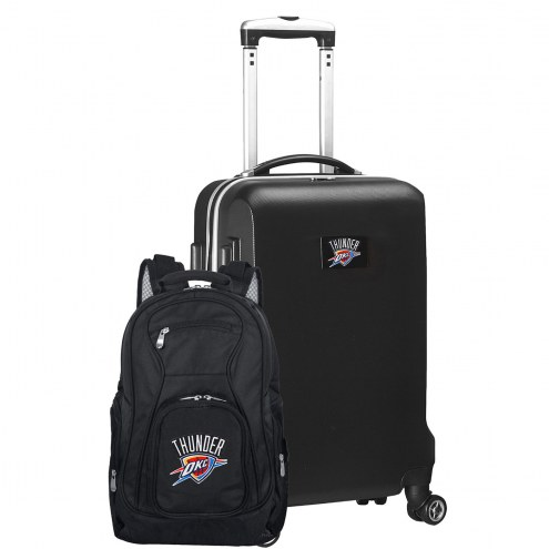 Oklahoma City Thunder Deluxe 2-Piece Backpack & Carry-On Set